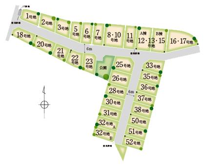岩出中島2区画図