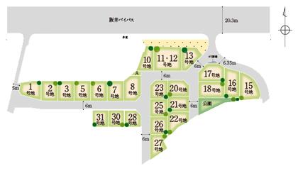 阪井区画図