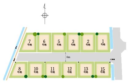 和歌山市中島区画図